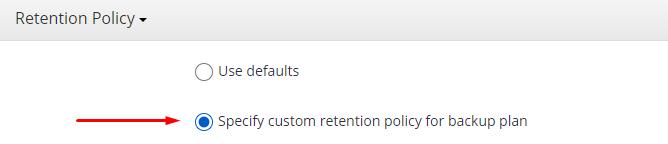 MSP360 Managed Backup Service: Custom Settings