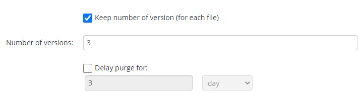 MSP360 managed Backup Service: Purging Options
