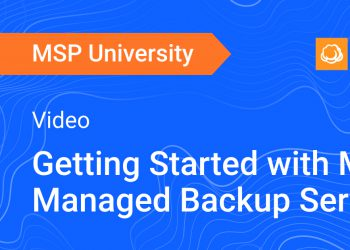 Getting Started with MSP360 Managed Backup Service