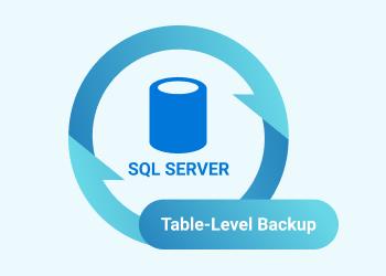 SQL Server Table Backup