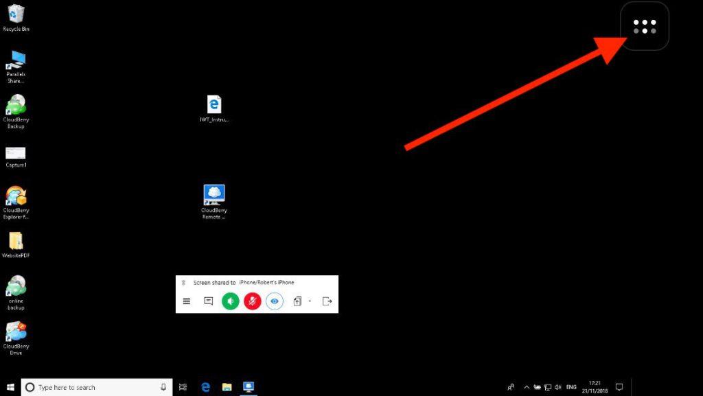 Remote Desktop Mode View
