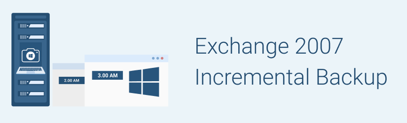 Exchange 2007 Incremental Backup