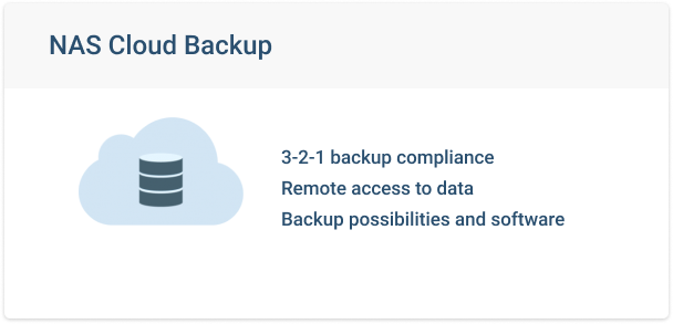 NAS Cloud Backup