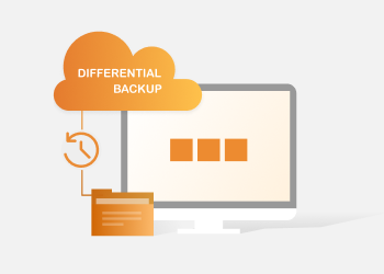 differential backup illustration