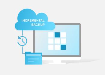 incremental backup illustration