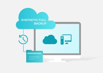 synthetic full backup backup illustration