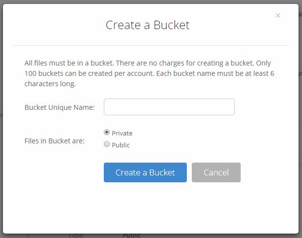 How to create a B2 Fireball Bucket