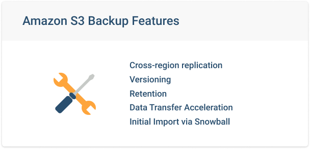 Amazon-S3-Backup-Features