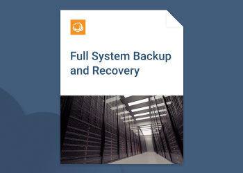 Full system backup and recovery guide