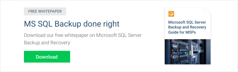 SQL Server Table Backup Guide