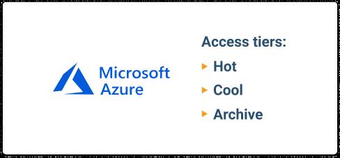 Azure access tiers