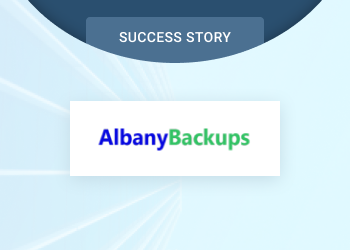 Albany Backups Success Story