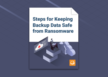 Steps for Keeping Backup Data Safe from Ransomware