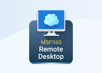 msp360 remote desktop