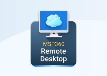 msp360 remote desktop
