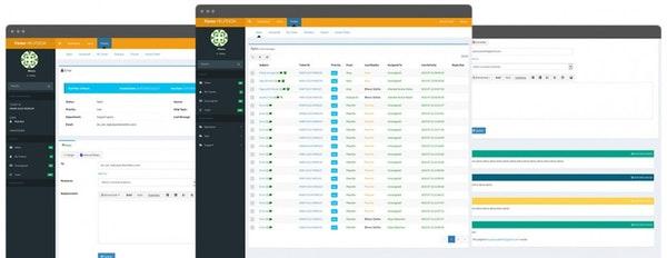 Faveo free ticketing system - screenshot