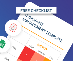ITIL Incident and Problem Management Checklist icon