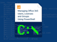 PowerShell Office 365