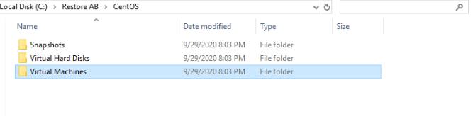 VM files