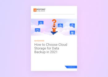 Choosing Cloud Storage for Data Backup
