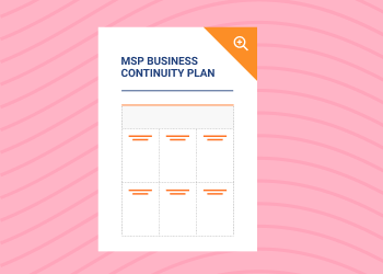 MSP Business Continuity Plan