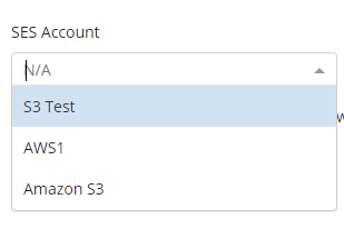 Amazon SES Settings in MSP360 Managed Backup Service