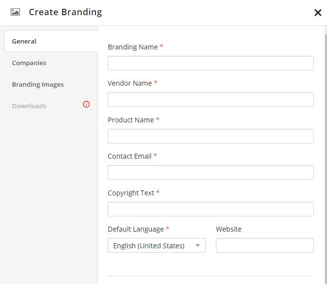 Creating branding