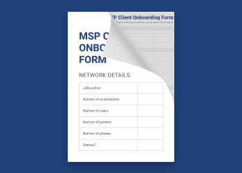 MSP Client Onboarding Form