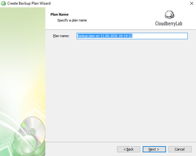 CloudBerry Backup 7.0