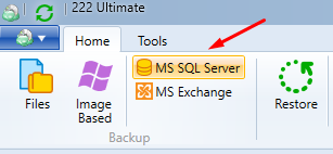 SQL Backup in the MSP360 Managed Backup Agent