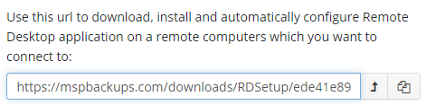Downloading a Build of in Managed Remote Desktop