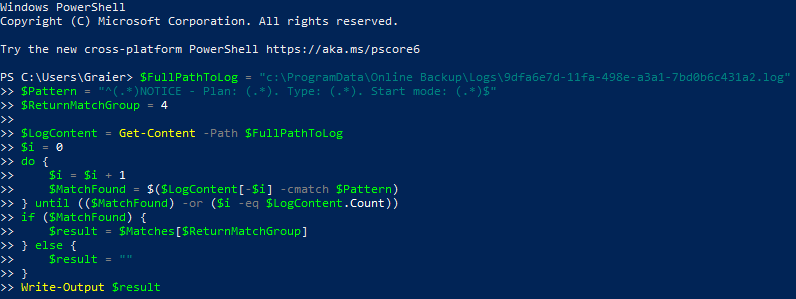 Getting the Last Backup Type with Windows PowerShell