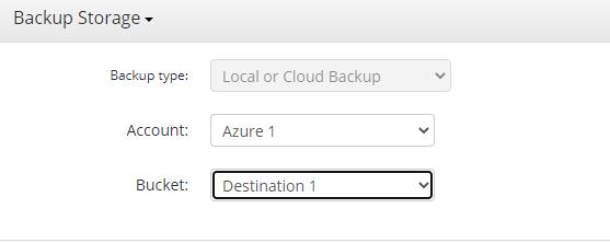 Remote Deploy in Managed Backup Service: Choosing a Destination