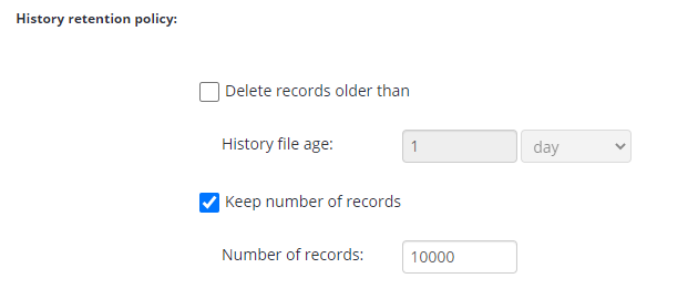 Remote Deploy in Managed Backup Service: History