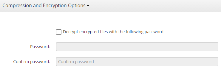 Remote Deploy in Managed Backup Service: Entering a Password