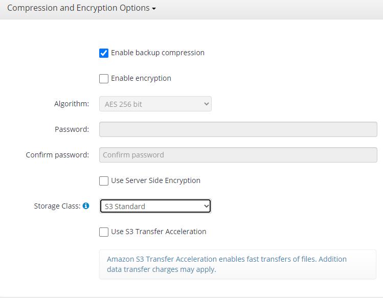 Hyper-V Backup: Compression and Encryption