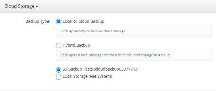 Hyper-V Backup: Storage