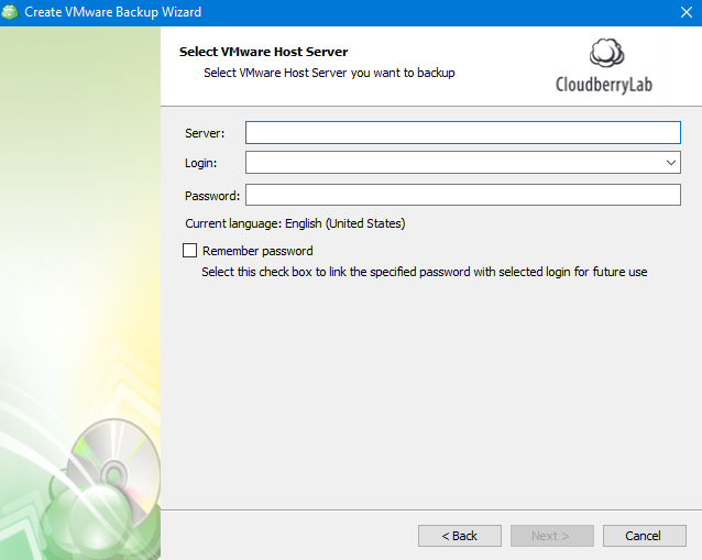 Connecting to a Server in MSP360 Managed Backup Web Agent