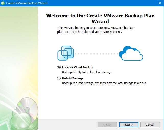 Choosing Storage in MSP360 Managed Backup Web Agent