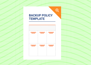 Backup Policy Template