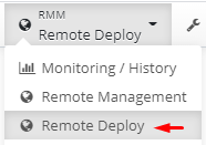 MSP360 Managed Backup: Remote Deploy