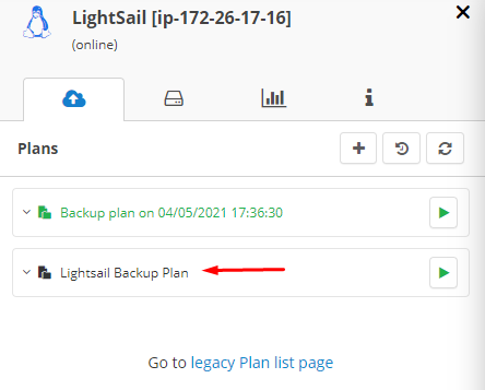 MSP360 Managed Backup: New Plan Created