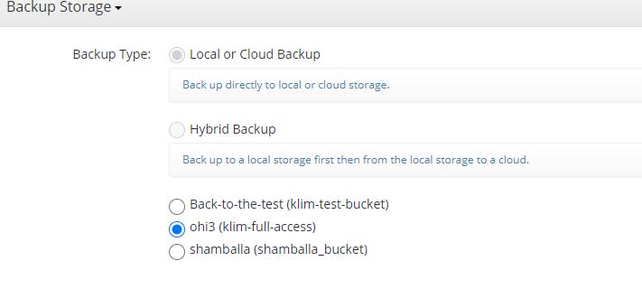 MSP360 Managed Backup: Where to Back Up
