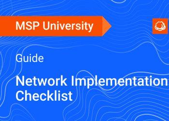Network Implementation Checklist